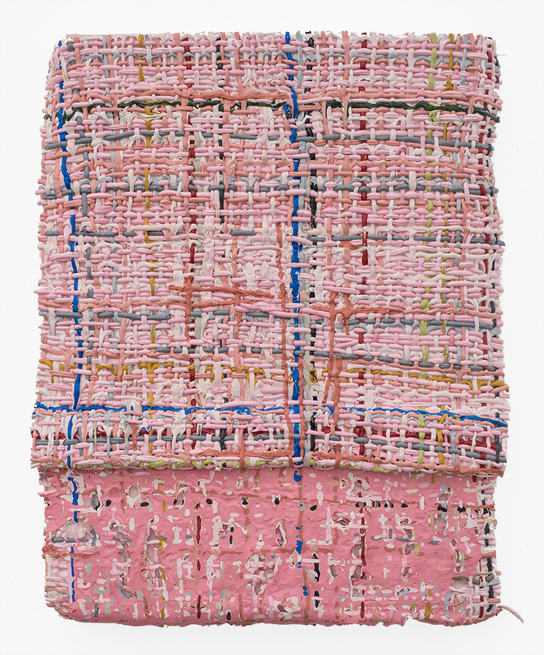 Gabrielle Kruger | Binding Blurring Bending | 2019 | Acrylic on Board | 61 x 51 cm