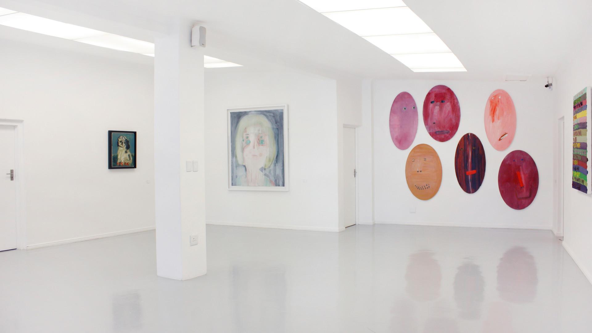 Georgina Gratrix   My Show   2012   Installation View