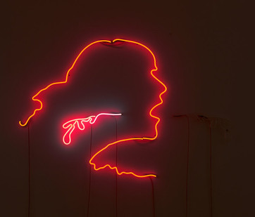 Frances Goodman | Spit/Swallow | 2019 | Neon | 10 x 150 cm | Edition of 3