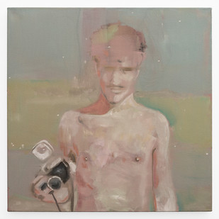 Kate Gottgens | The Distance #3 | 2019 | Oil on Canvas | 68.5 x 68.5 cm