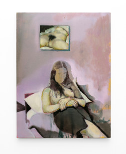 Kate Gottgens   The Rest   2020   Oil on Canvas   90.5 x 69 cm