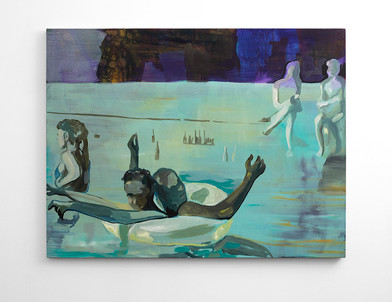 Kate Gottgens | Let Them Drown | 2016 | Oil on Canvas | 115 x 150 cm