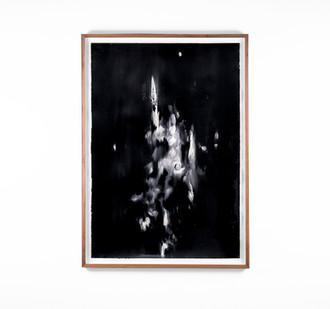 Alexandra Karakashian   Undying XLIII   2018   Oil on Sized Paper   99 x 70 cm