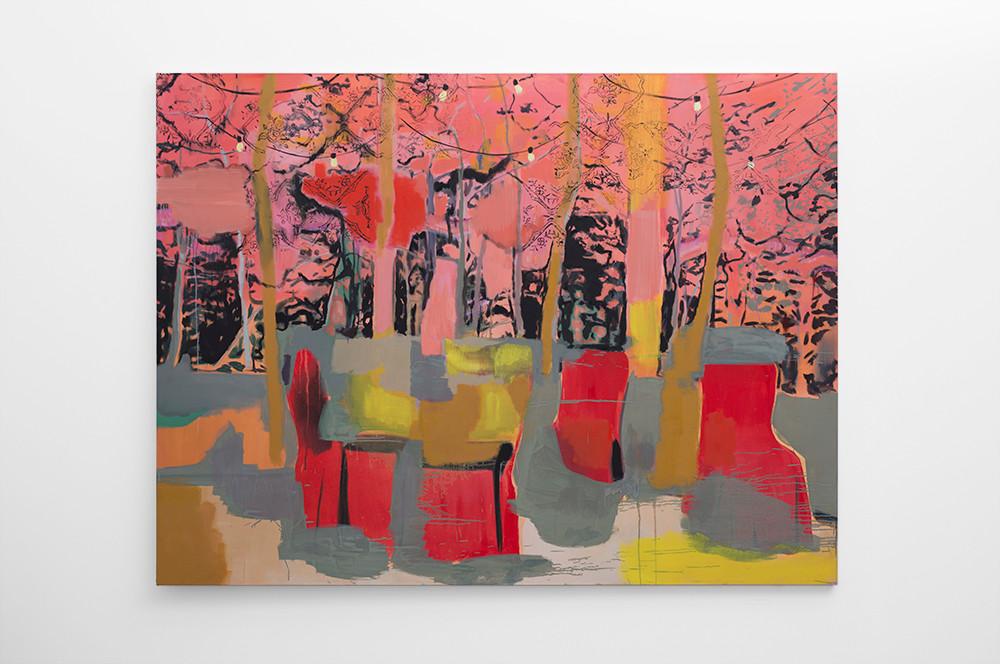Kate Gottgens   Shangri-la   2017   Oil on Canvas   150 x 200 cm