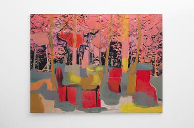 Kate Gottgens | Shangri-la | 2017 | Oil on Canvas | 150 x 200 cm