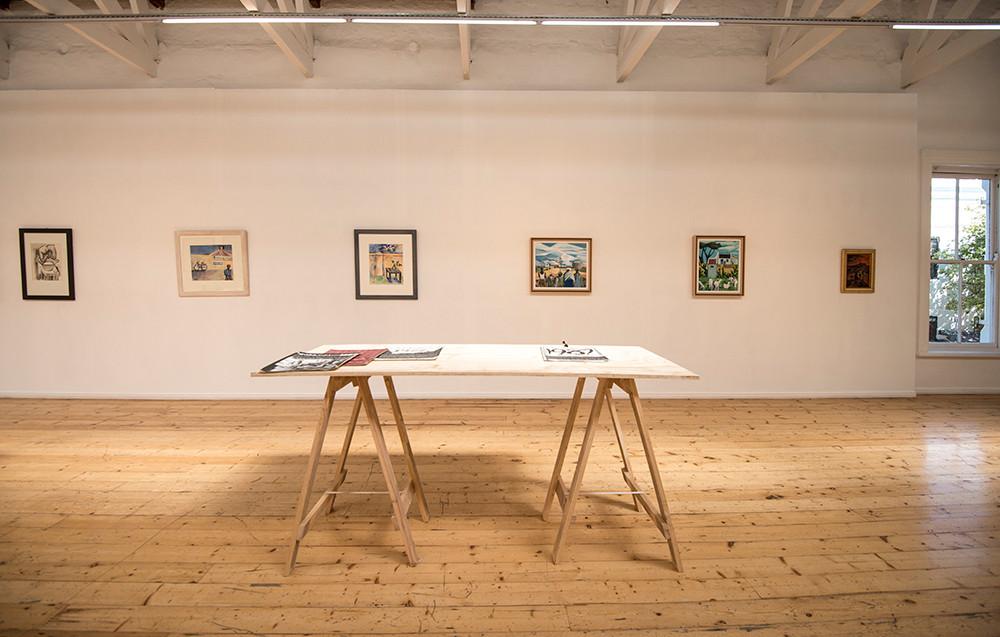 Peter E. Clarke & Lionel Davis | Die Bou van die Oog | 2018 | Installation View