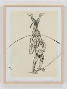 Albert Adams | Circus I | 2006 | Lithograph | 83 x 63 cm