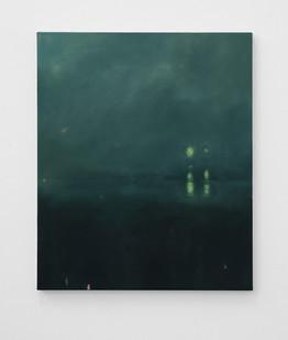 Jake Aikman | Signals | 2016 | Oil on Canvas | 61 x 51 cm