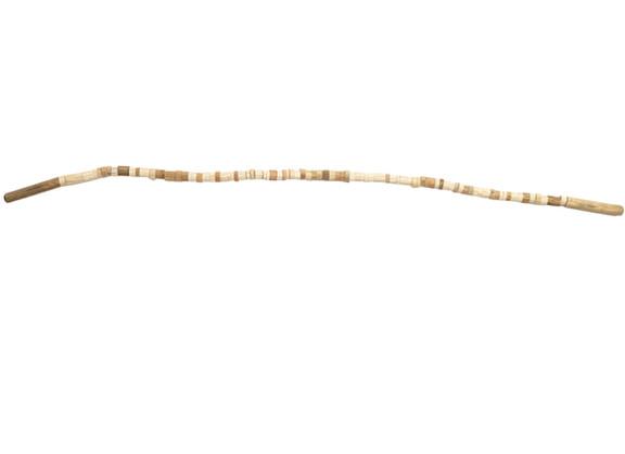 Usha Seejarim | Magic Stick | 2019 | Broom Stick and Wire | 140 x 2.7 cm