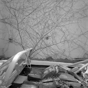 Abrie Fourie | Polígon de sa Platja, Port de Sóller, Balearic Islands, Spain | 2012 | Hand Printed Black & White Photograph on Baryta Paper | 120 x 120 cm | Edition of 3
