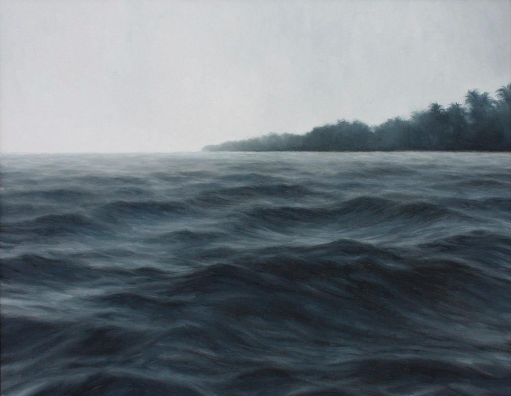 Jake Aikman | La Punta (El Salvador) | 2012 | Oil on Canvas | 70 x 90.5 cm