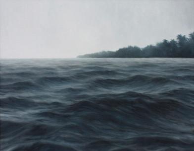 Jake Aikman   La Punta (El Salvador)   2012   Oil on Canvas   70 x 90.5 cm