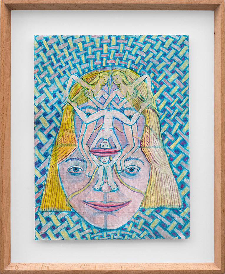 Marlene Steyn   We've weaved again   2018   Oil on Canvas   30 x 23 cm