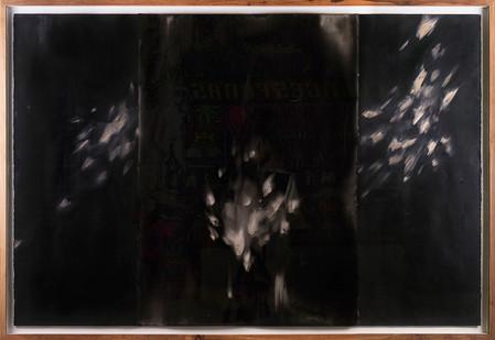 Alexandra Karakashian   Undying (beneath) I   2017   Oil on Sized Paper   99 x 148 cm