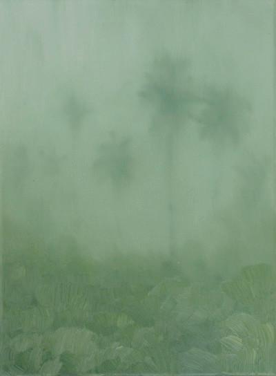 Jake Aikman | N13.204852, W88.446175 | 2013 | Oil on Canvas | 30.5 x 23 cm