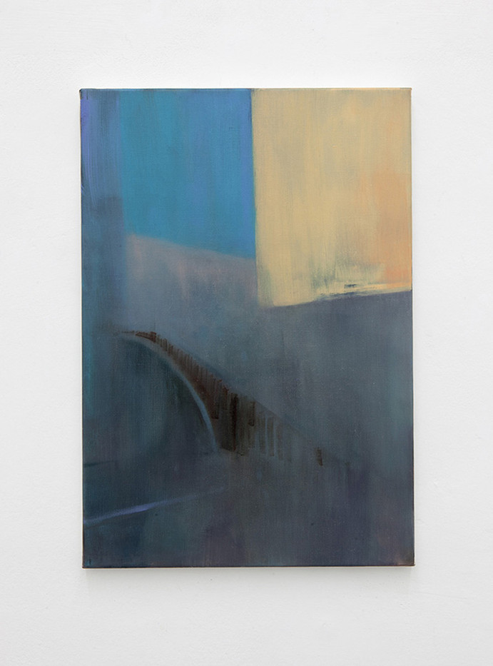 Paul P. | Untitled | 2011 | Oil on Canvas | 55 x 38 cm