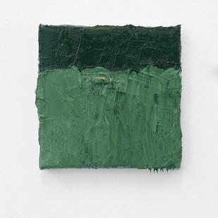 Jake Aikman | Foliage | 2016 | Oil on Canvas | 15 x 15 cm