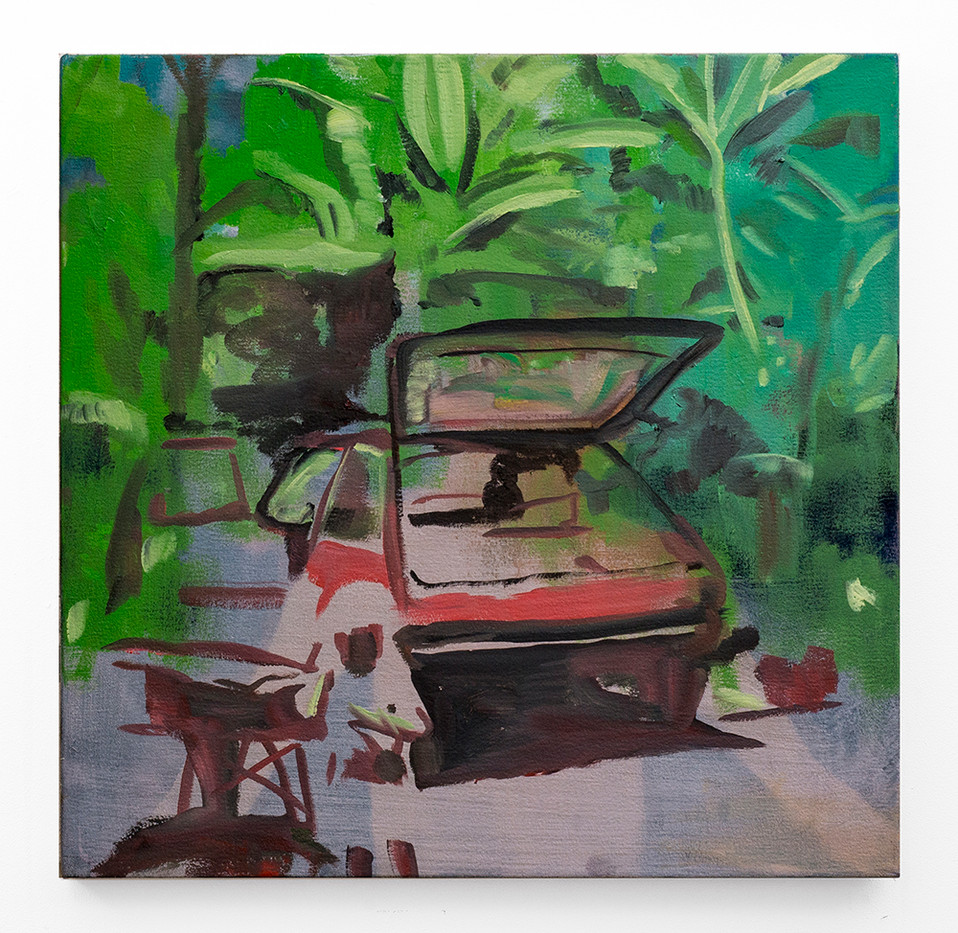 Kate Gottgens | Are we there? | 2018 | Oil on Canvas | 50 x 50 cm