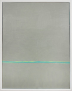 Helen A. Pritchard   Untitled - Carrier 13   2013   Oil and Pigment on Board   77 x 61 cm