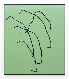 Peter Eastman | Form I | 2019 | Enamel Paint on Aluminium | 97.5 x 85 cm