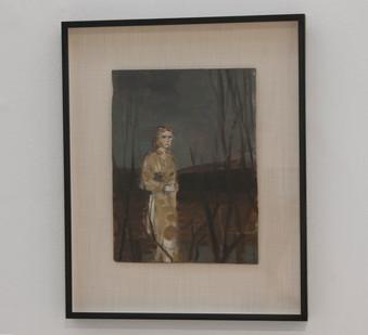 Simon Stone   Among the Trees   2014   Oil on Board   34.5 x 26 cm