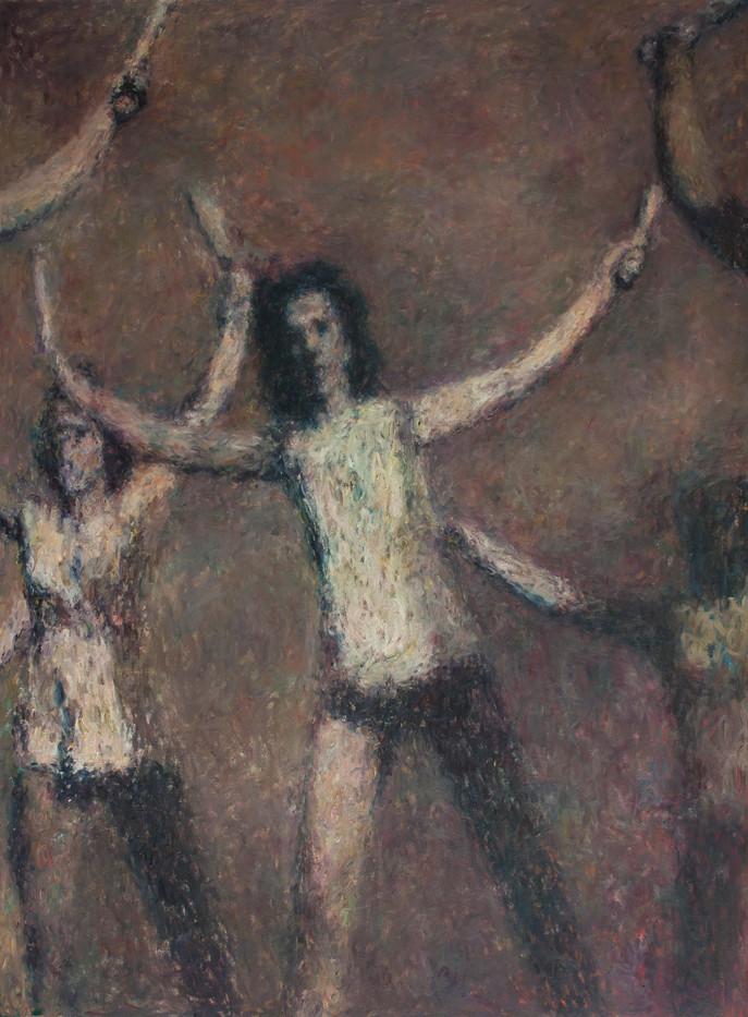 Anton Karstel | /1939-Glaube-und-Schoenheit (X) | 2014 | Oil on Canvas | 230 x 170 cm