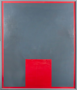 Helen A. Pritchard   Untitled- Carrier 15   2013   Oil and Pigment on Canvas   120 x 100 cm