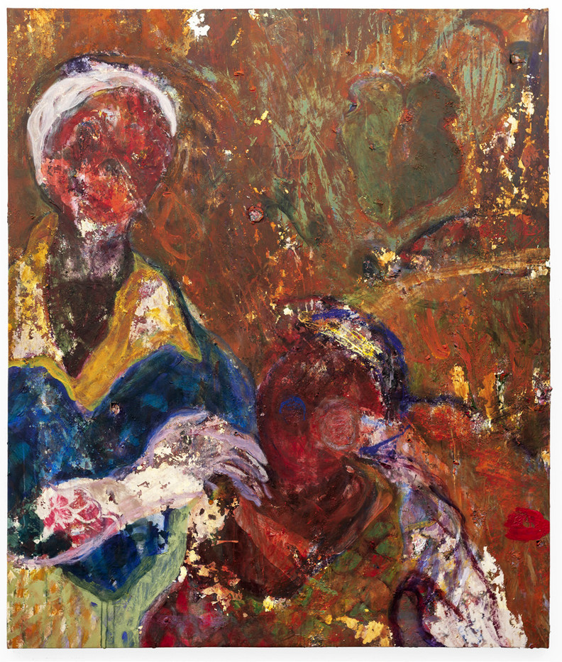 Mostaff Muchawaya | Hanzadzi dzangu | 2019 | Acrylic and Glue on Canvas | 171 x 144 cm