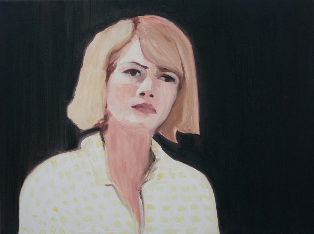 Luiza Cachalia   Melancholy 1   2012   Oil on Canvas   45 x 61 cm
