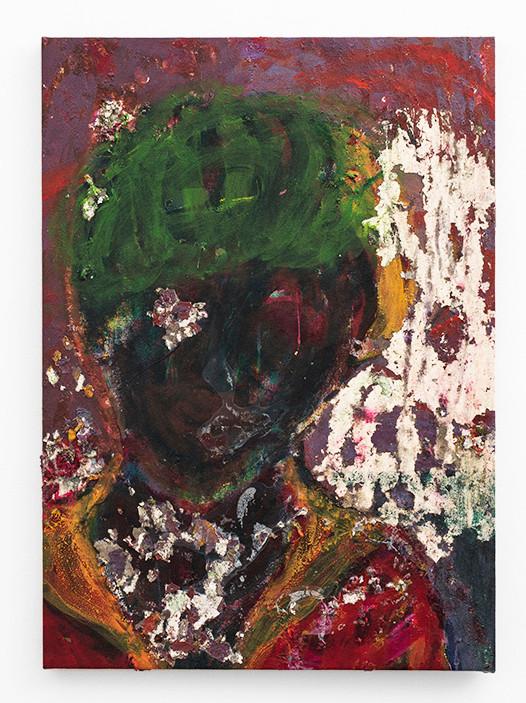 Mostaff Muchawaya   Masiya Mbiri   2017   Acrylic on Canvas   81 x 65 cm