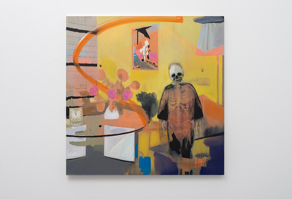 Kate Gottgens   Interior (lost soul)   2017   Oil on Canvas   150 x 150 cm