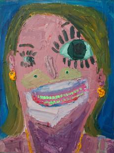 Georgina Gratrix | Crazy for You | 2012 | Oil on Canvas | 80 x 60 cm