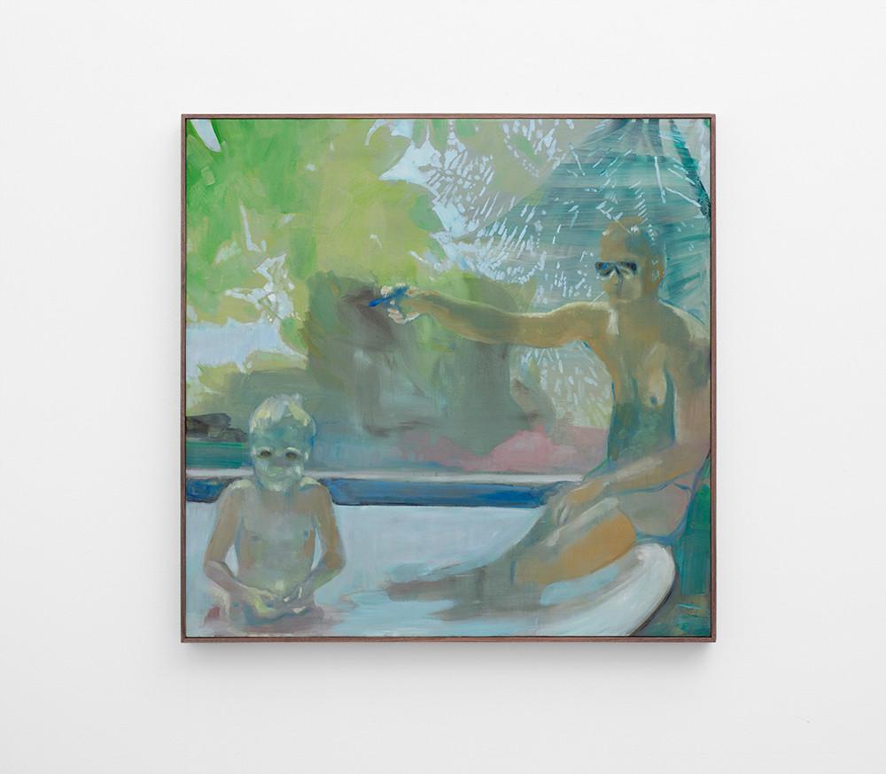 Kate Gottgens   Squirt   2017   Oil on Canvas   95 x 95 cm