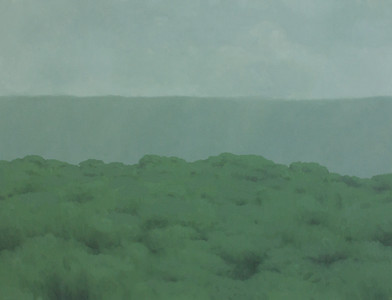 Jake Aikman   N11.084375, W85.711261   2013   Oil on Canvas   95 x 125 cm