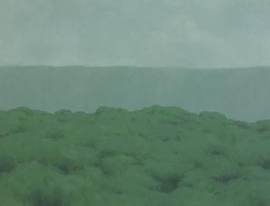 Jake Aikman | N11.084375, W85.711261 | 2013 | Oil on Canvas | 95 x 125 cm