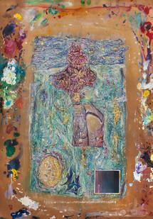 Liam Ryan | Untitled | 2014 | Watercolour on Paper | 58 x 42 cm