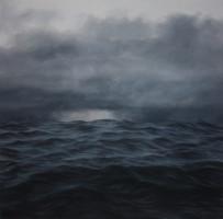 Jake Aikman | Surge II | 2012 | Oil on Canvas | 160 x 160 cm