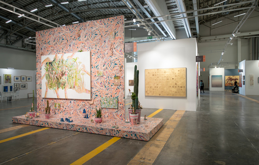 Investec Cape Town Art Fair | Main Section | 2018 | Installation View
