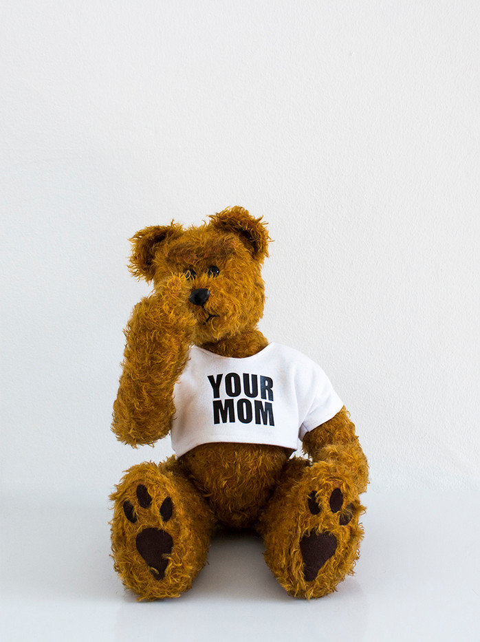 Ed Young | Buttercup | 2015 | South African Mohair Traditional Teddybear | 31 cm | Edition of 3 + 1 AP