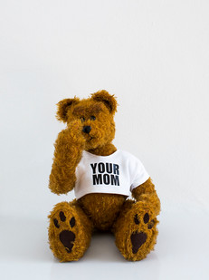 Ed Young   Buttercup   2015   South African Mohair Traditional Teddybear   31 cm   Edition of 3 + 1 AP