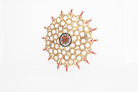 Cyrus Kabiru | The Honey Comb | 2019 | Mixed Media | 25 x 25 x 24 cm