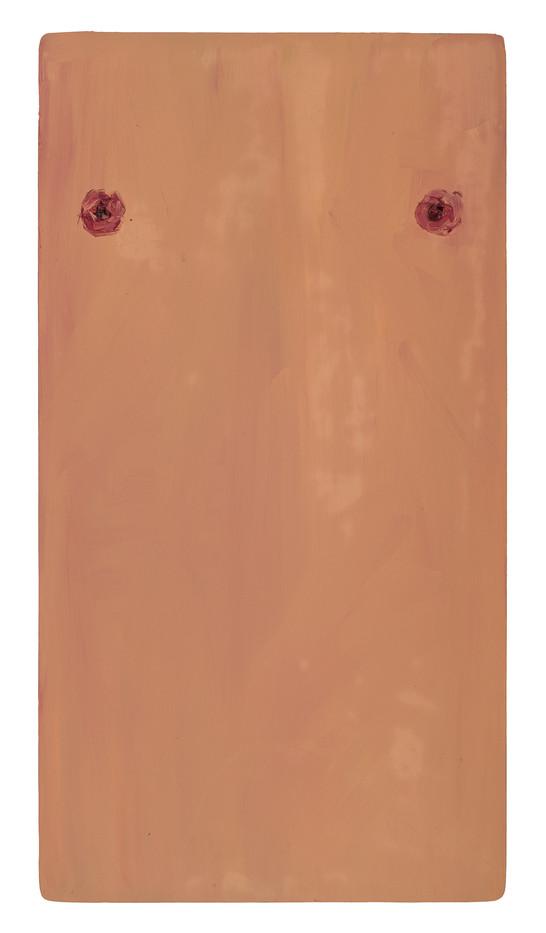 Georgina Gratrix   Chests   2011   Oil on Board   75 x 40 cm