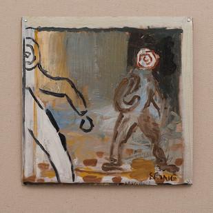 Simon Stone   Conformity Reigns   2016   Oil on Cardboard   24,5 x 23 cm