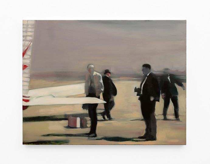 Kate Gottgens | The Players | 2020 | Oil on Canvas | 68 x 90 cm