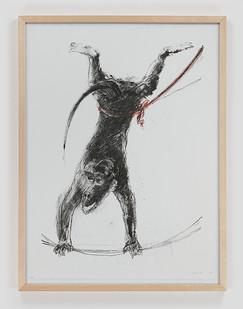 Albert Adams | Circus IV | 2006 | Lithograph | 83 x 63 cm