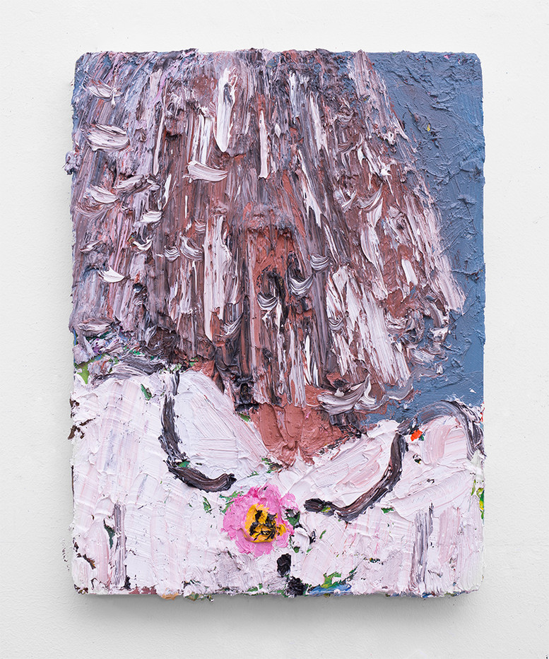 Georgina Gratrix | The Betrothed | 2017 | Oil on Canvas | 40 x 30 cm