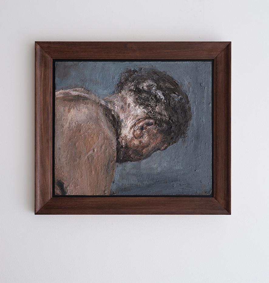 Johann Louw | Profiel Portret; 2017 | 2017 | Oil on Panel | 52 x 61 cm