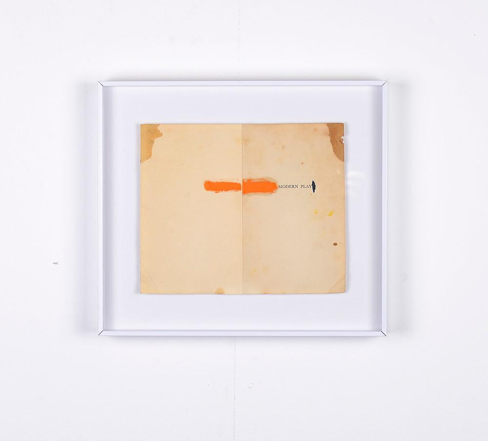 Ruann Coleman   Modern Player   2017   Oil on Paper   26 x 29.5 cm