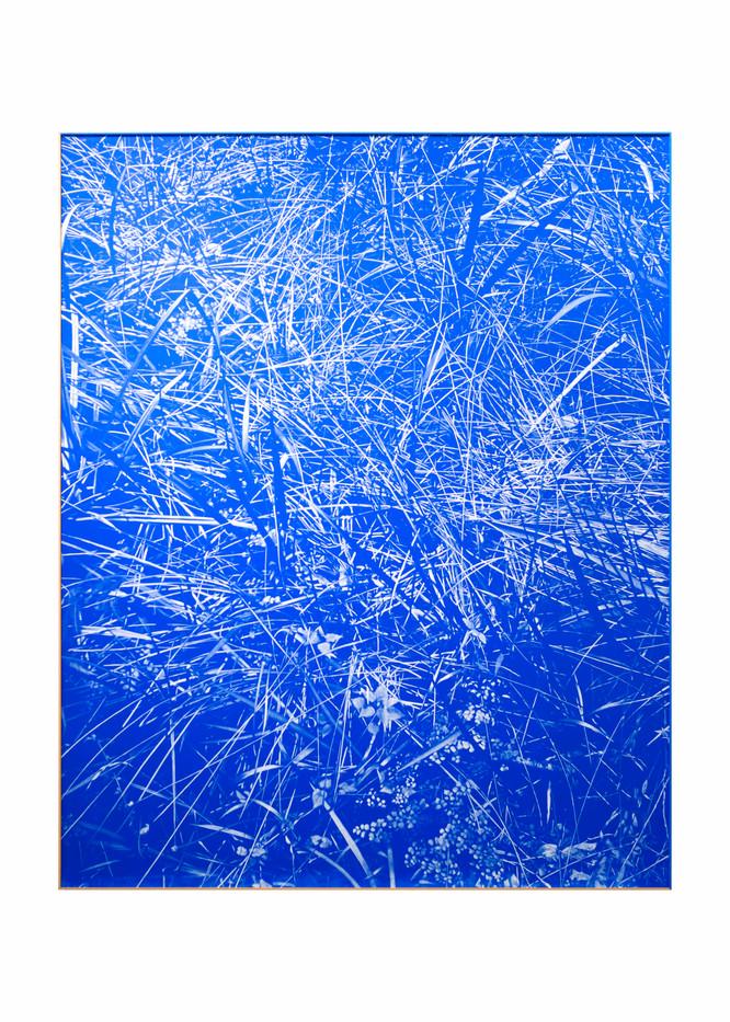 Peter Eastman | Blue Riverbed | 2020 | Oil on Aluminium | 160 x 130 cm