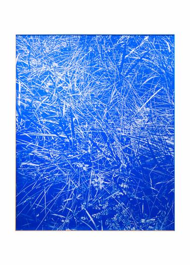 Peter Eastman   Blue Riverbed   2020   Oil on Aluminium   160 x 130 cm